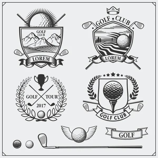 ゴルフ クラブ優勝トロフィー — ストックベクター © yupiramos #139508294