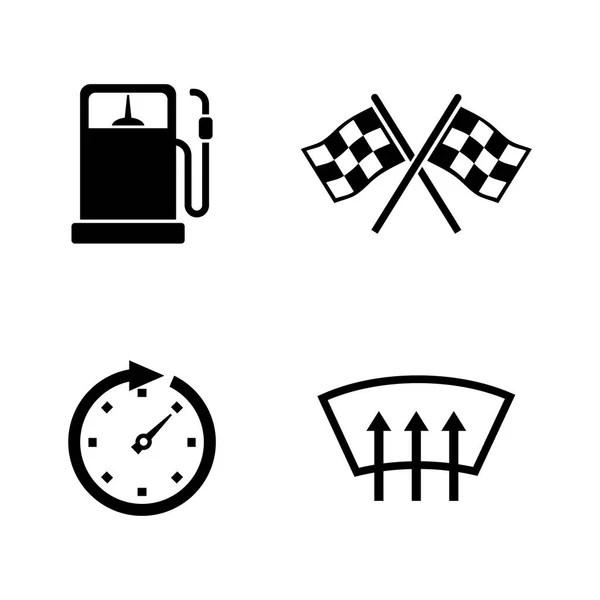 gas pedal, brake pedal, icon — Stock Vector © arctina2059