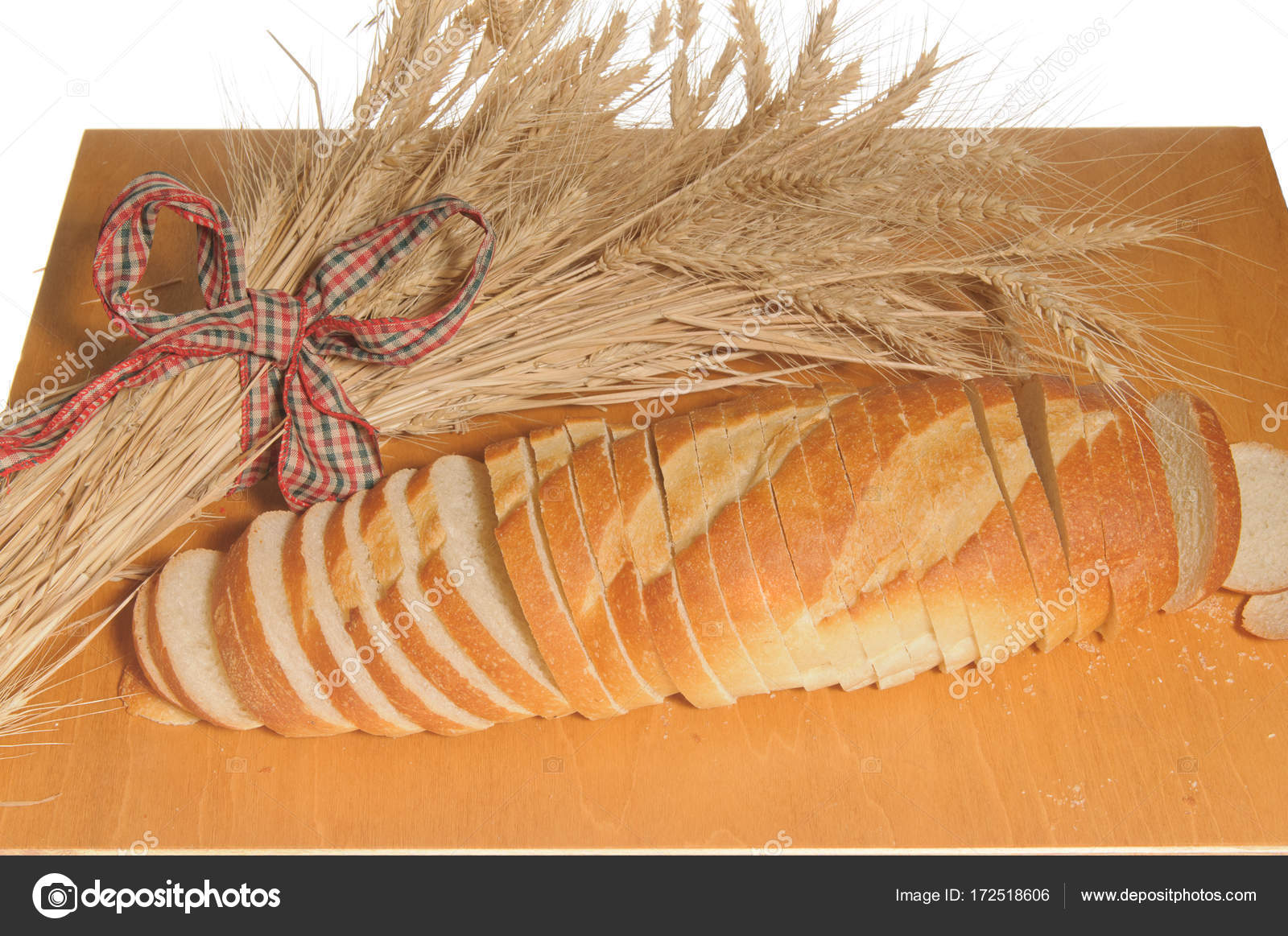 loaf sliced french bread