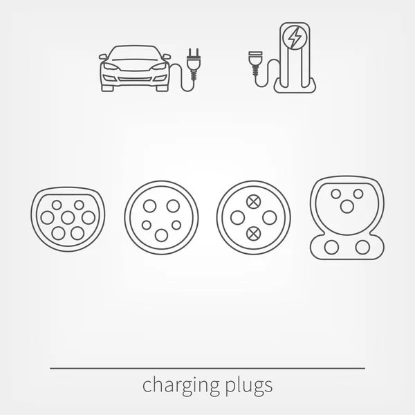 Car charging station icon — Stock Vector © denis