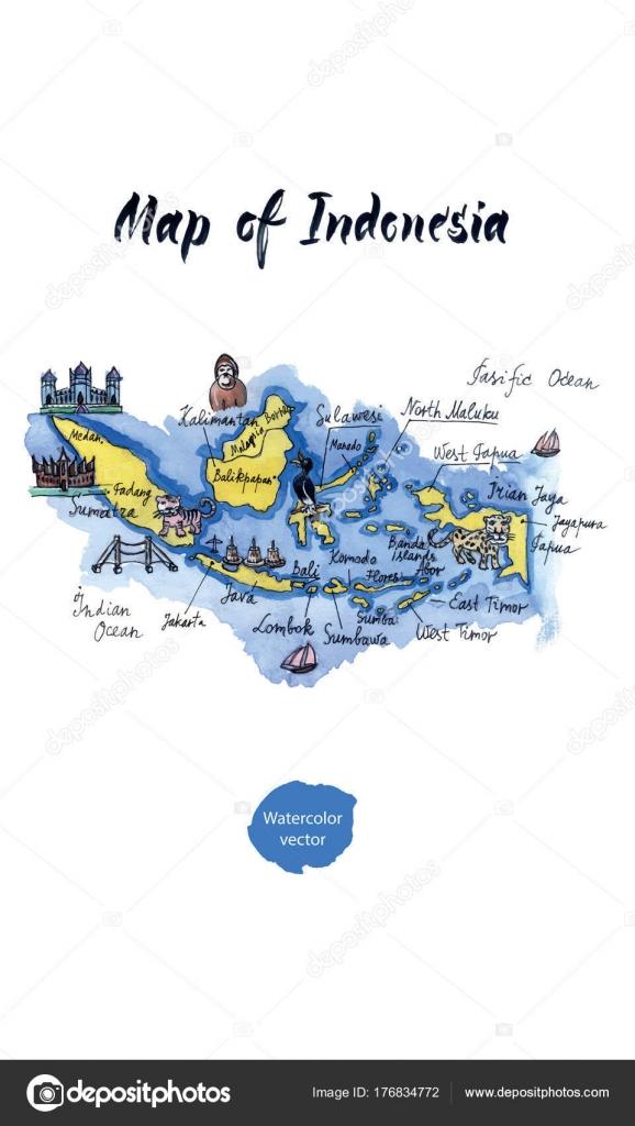 Pulau Jawa Vector : pulau, vector, Cartoon, Stock, Vectors,, Royalty, Illustrations, Download, Depositphotos®