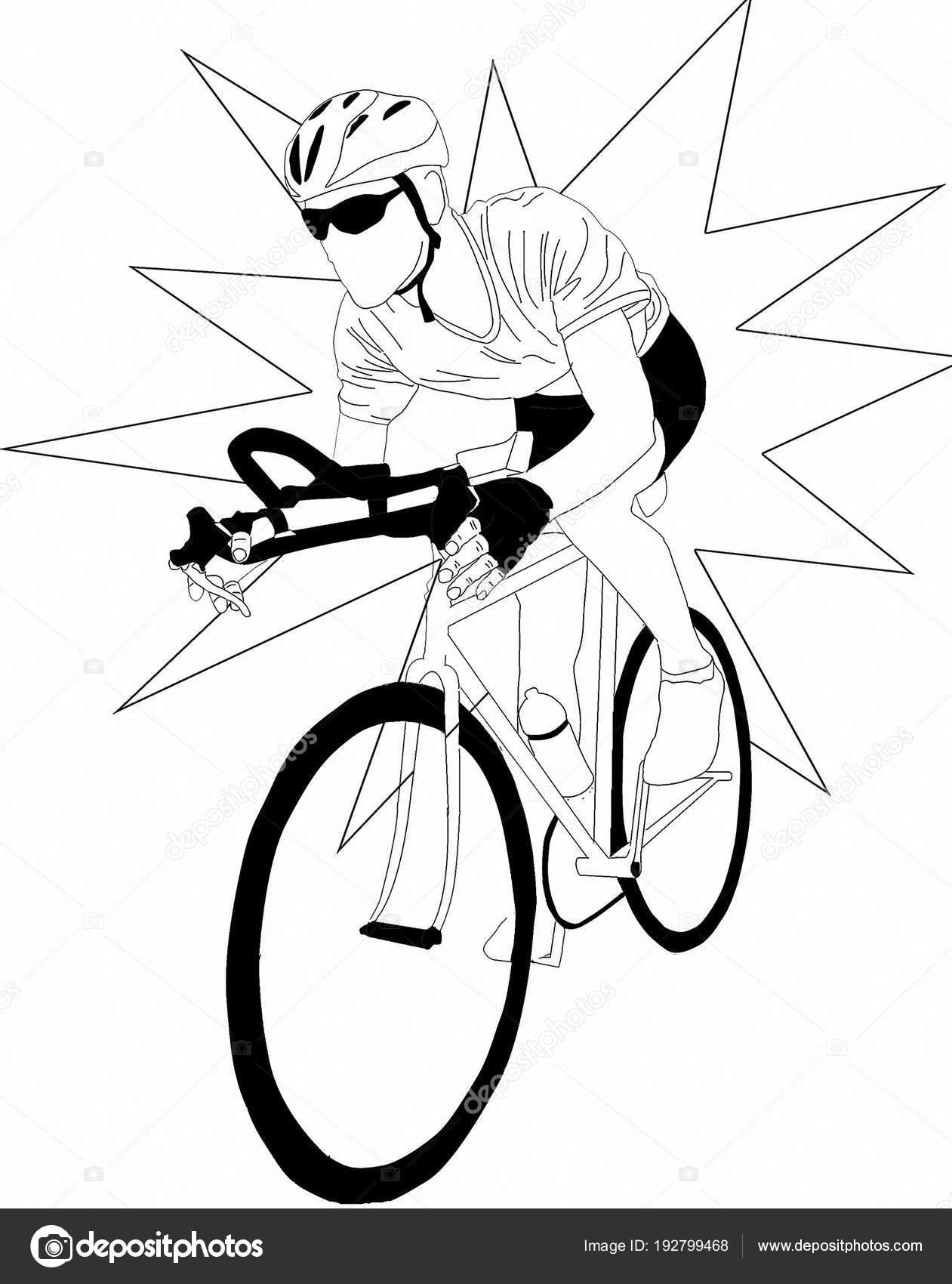 Deporte Bicicleta Carreras — Foto de stock © arlekino2011