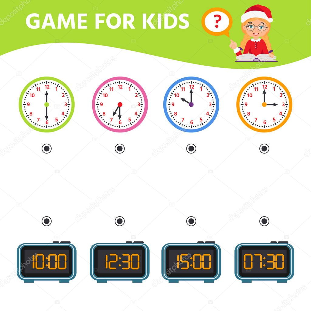 Game For Children Educational Worksheet For Preschool