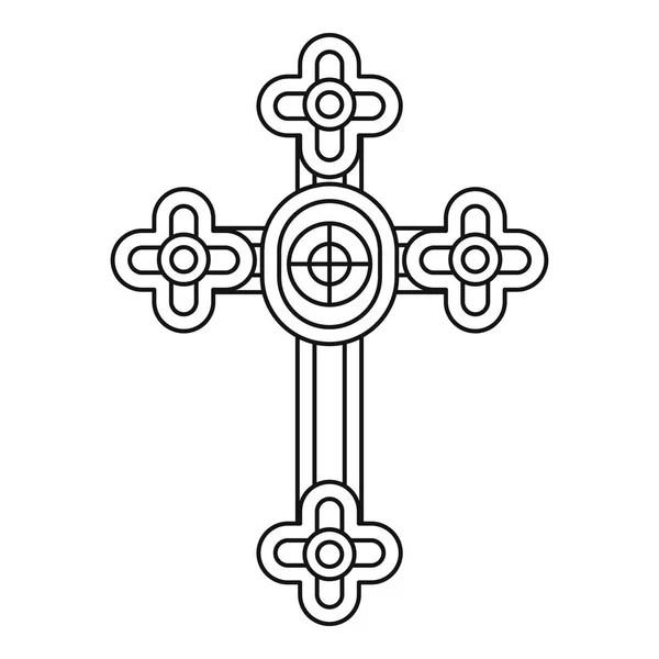 Traditional Armenian Apostolic Church cross clip art