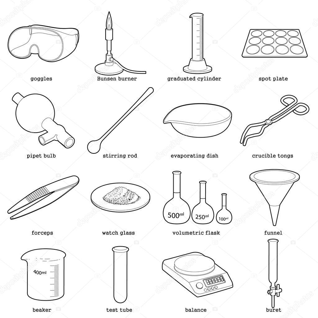 Immagini Laboratorio Chimica Icone Laboratorio Chimico