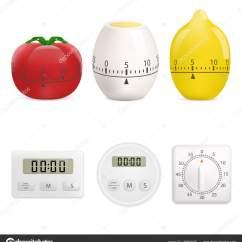 Kitchen Timer Table Island Combo 厨房定时器样机套真风格 图库矢量图像 C Ylivdesign 185972550 图库矢量图片
