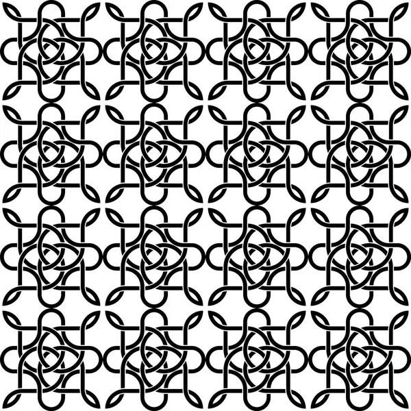 seamless black rope symbol — Stock Vector © happyroman