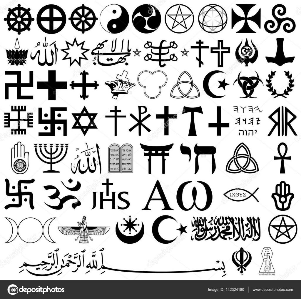World Religion Symbols And Their Meanings Pictures to Pin