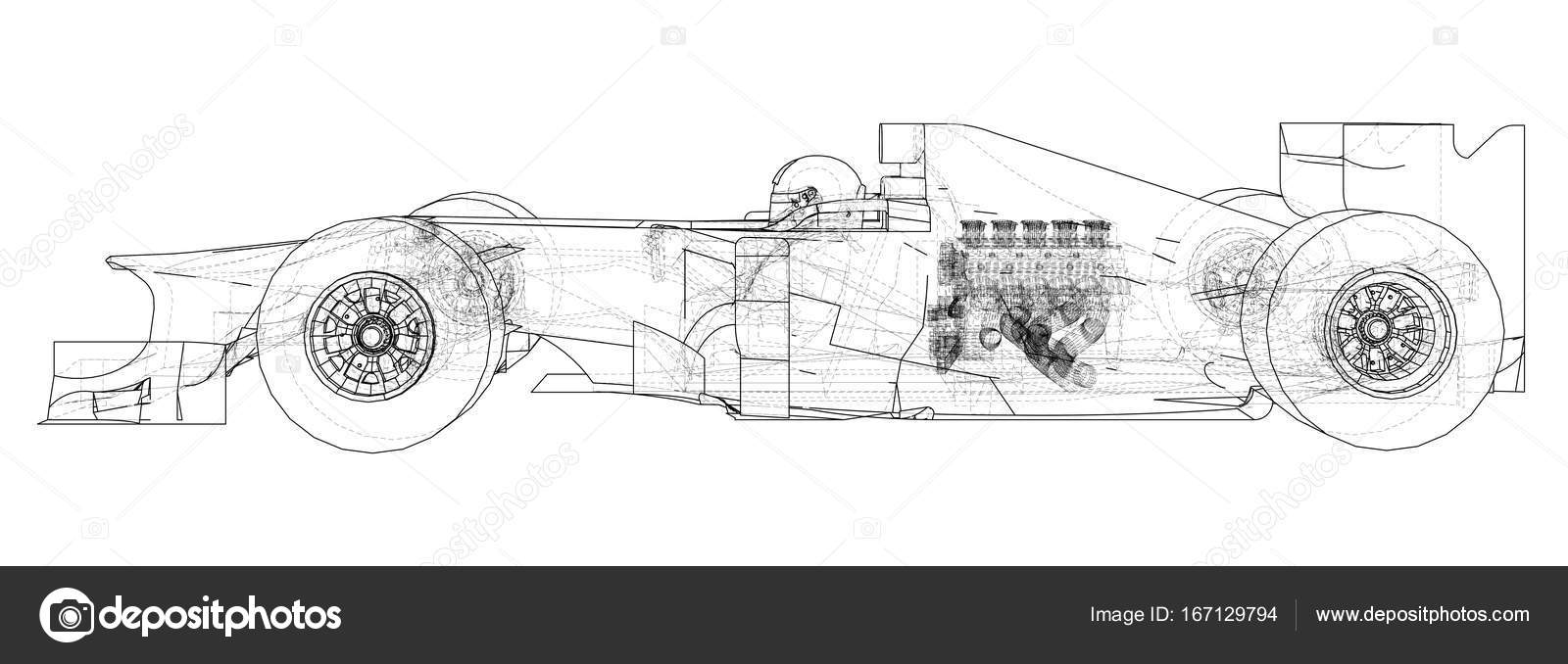 hight resolution of racing car wire frame eps10 format vector rendering of 3d vector by mirexonlife
