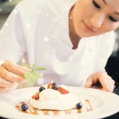 Decorative Kitchen Signs Cheap Gadgets 女厨师在厨房 — 图库照片©wavebreakmedia#42926125