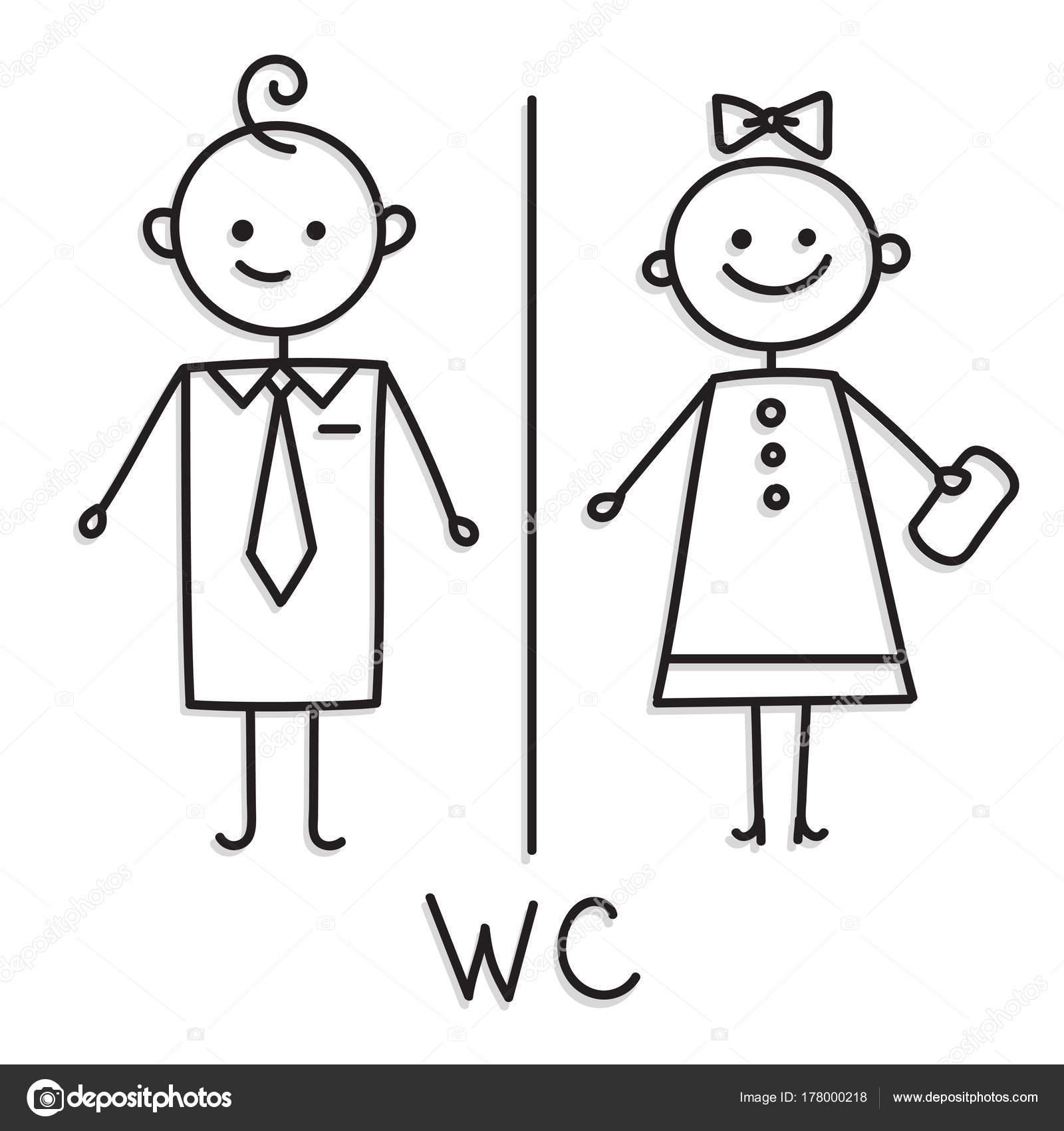 Dibujos Para Banos De Hombres Y Mujeres