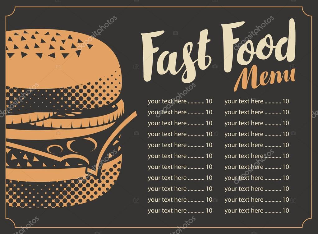 Fotos menu para restaurante  men para el restaurante de