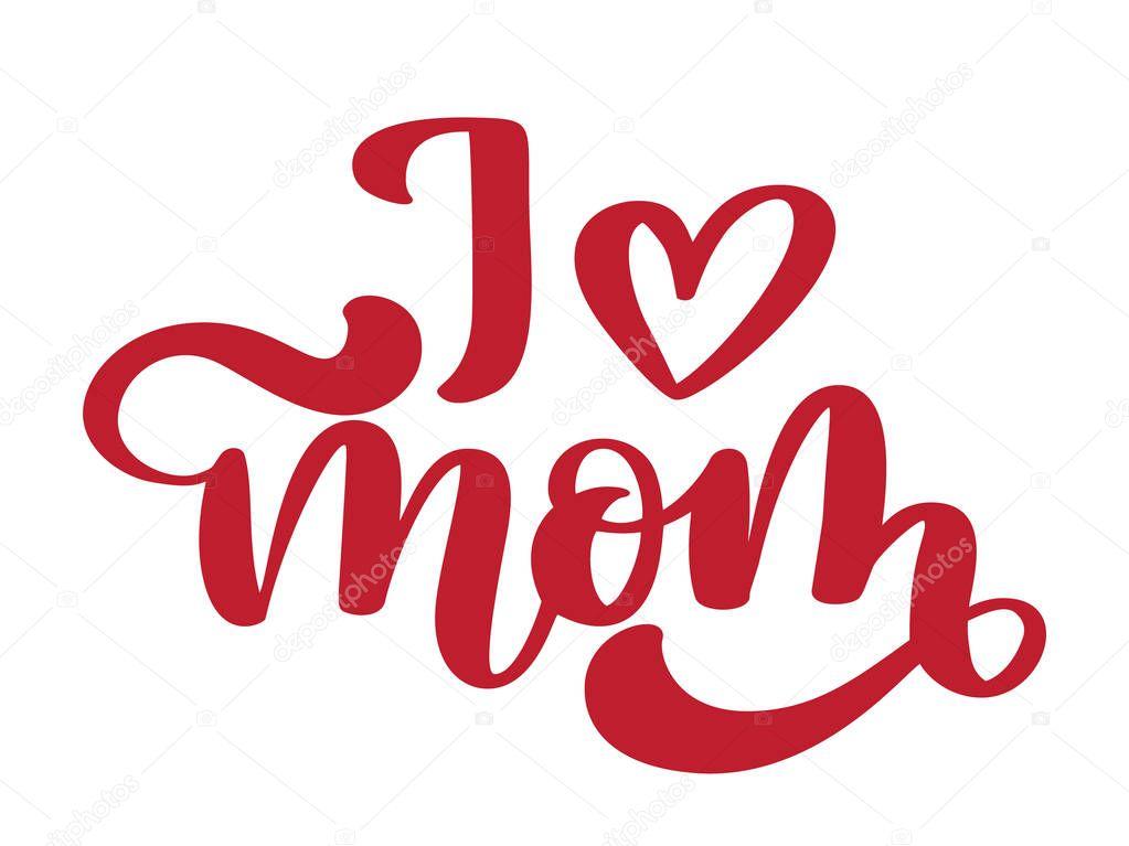 Download Imágenes: te amo mama letra cursiva | Te amo a mamá ...