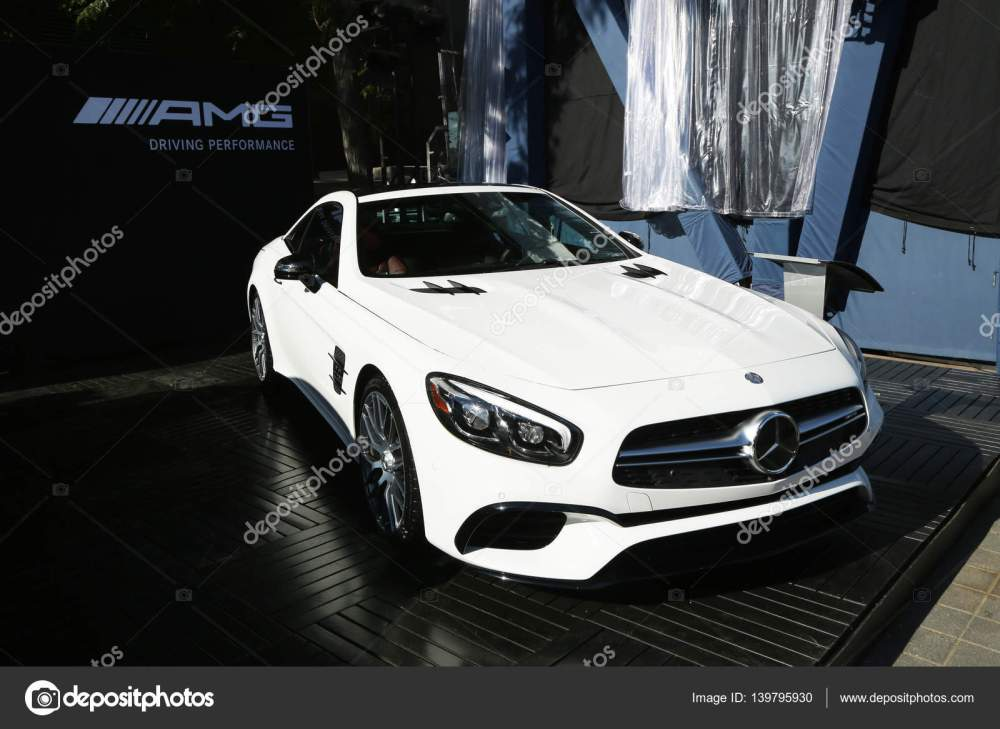 medium resolution of mercedes benz amg on display at national tennis center during us open 2016 in new