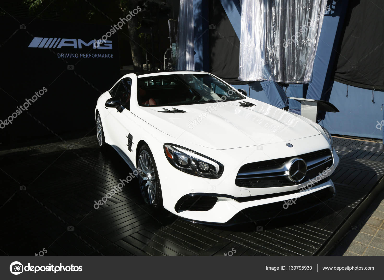 hight resolution of mercedes benz amg on display at national tennis center during us open 2016 in new