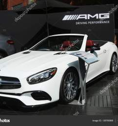 mercedes benz amg on display at national tennis center during us open 2016 in new [ 1600 x 1167 Pixel ]