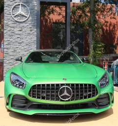 mercedes benz amg on display at national tennis center during us open 2017 stock [ 1067 x 1700 Pixel ]