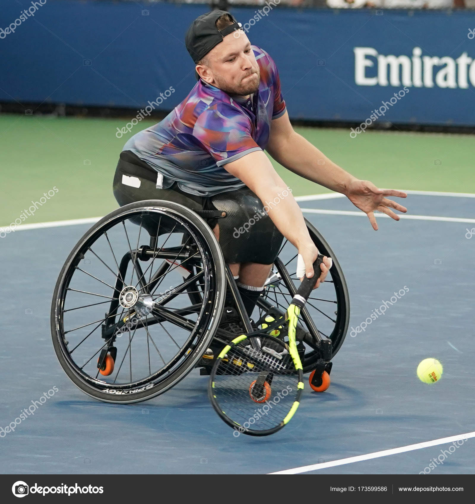 wheelchair quad best place to buy an office chair tennis player dylan alcott of australia in action during his singles semifinal match