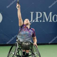 Wheelchair Quad Reclining Styling Chair Tennis Player Dylan Alcott Of Australia In Action During His Singles Semifinal Match