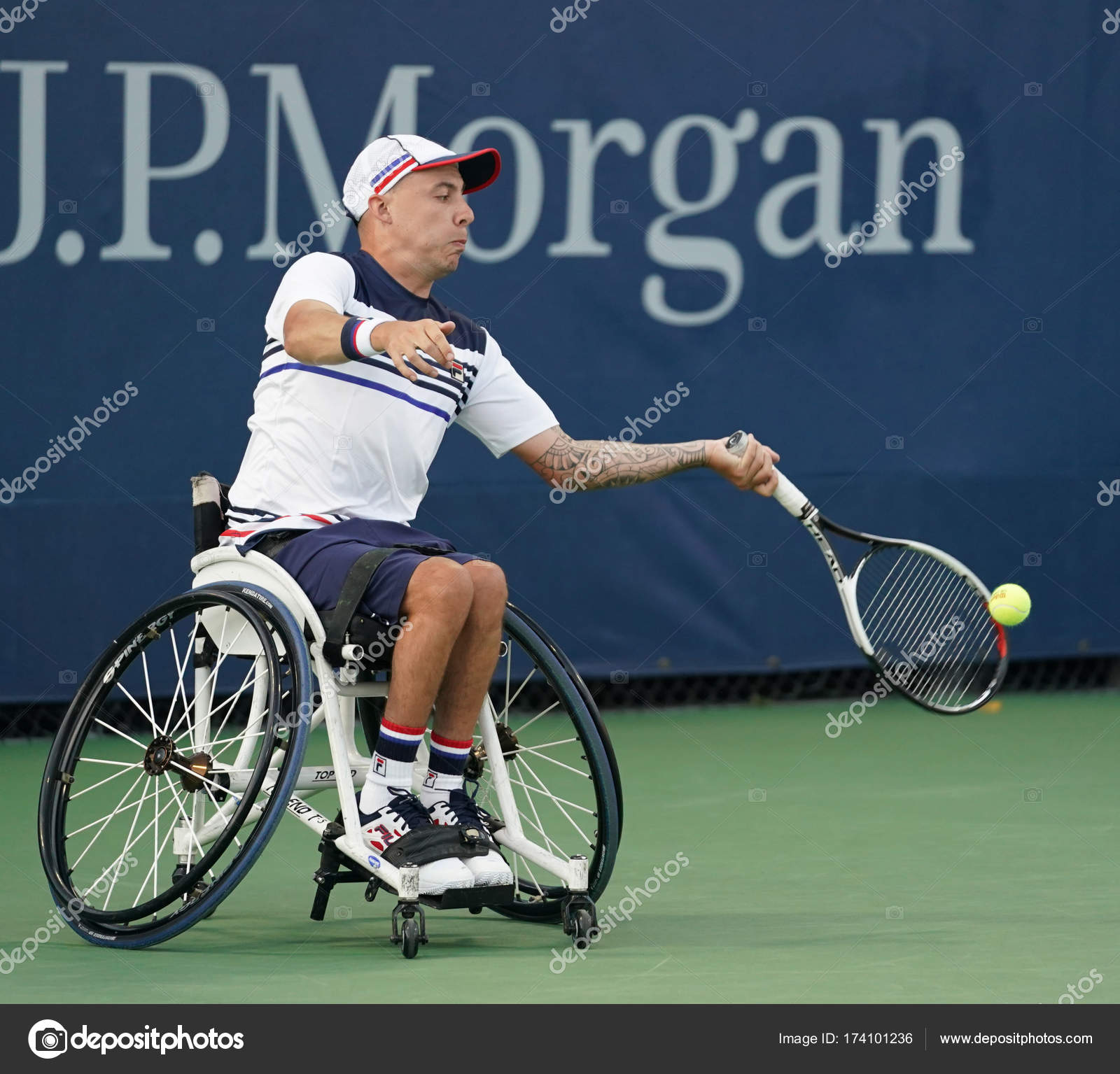 wheelchair quad wooden baby high chair canada tennis player andrew lapthorne of great britain in action during his singles semifinal