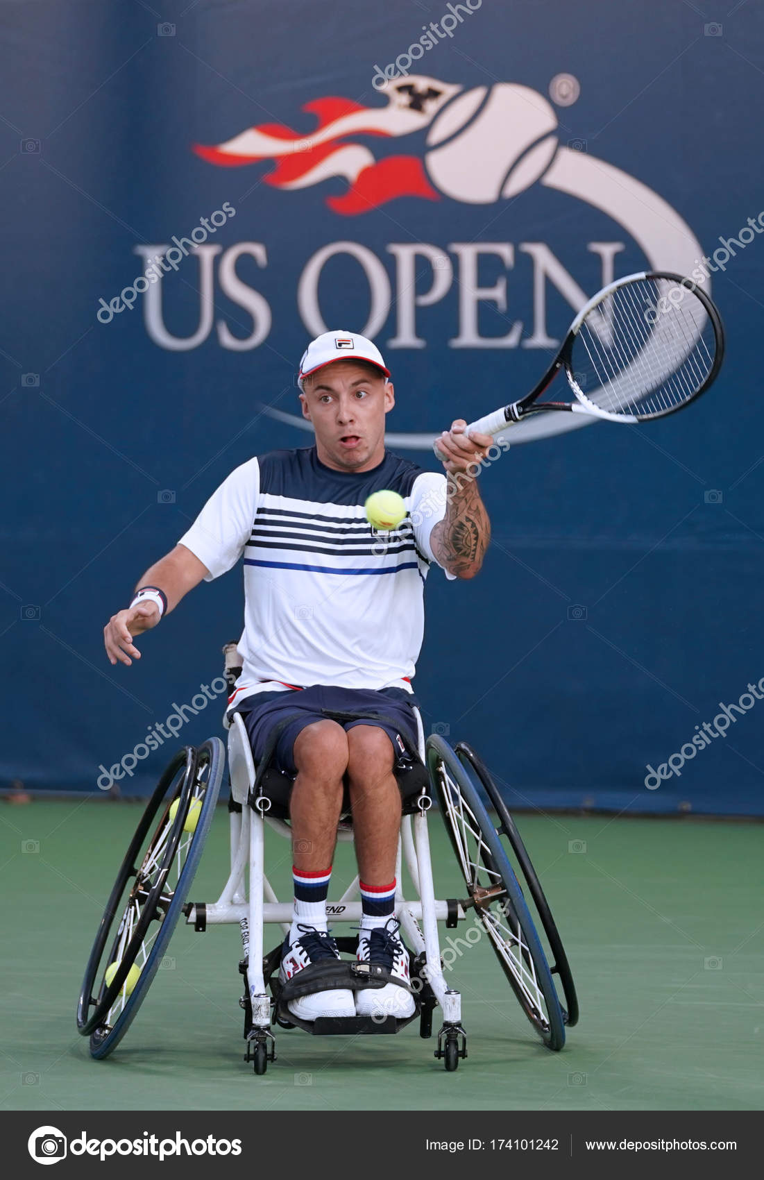 wheelchair quad chair covers on ebay tennis player andrew lapthorne of great britain in action during his singles semifinal