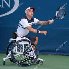 Wheelchair Quad Table And Chair Set Tennis Player Andrew Lapthorne Of Great Britain In Action During His Singles Semifinal