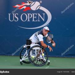 Wheelchair Quad Chair Mat For Hardwood Tennis Player Andrew Lapthorne Of Great Britain In Action During His Singles Semifinal
