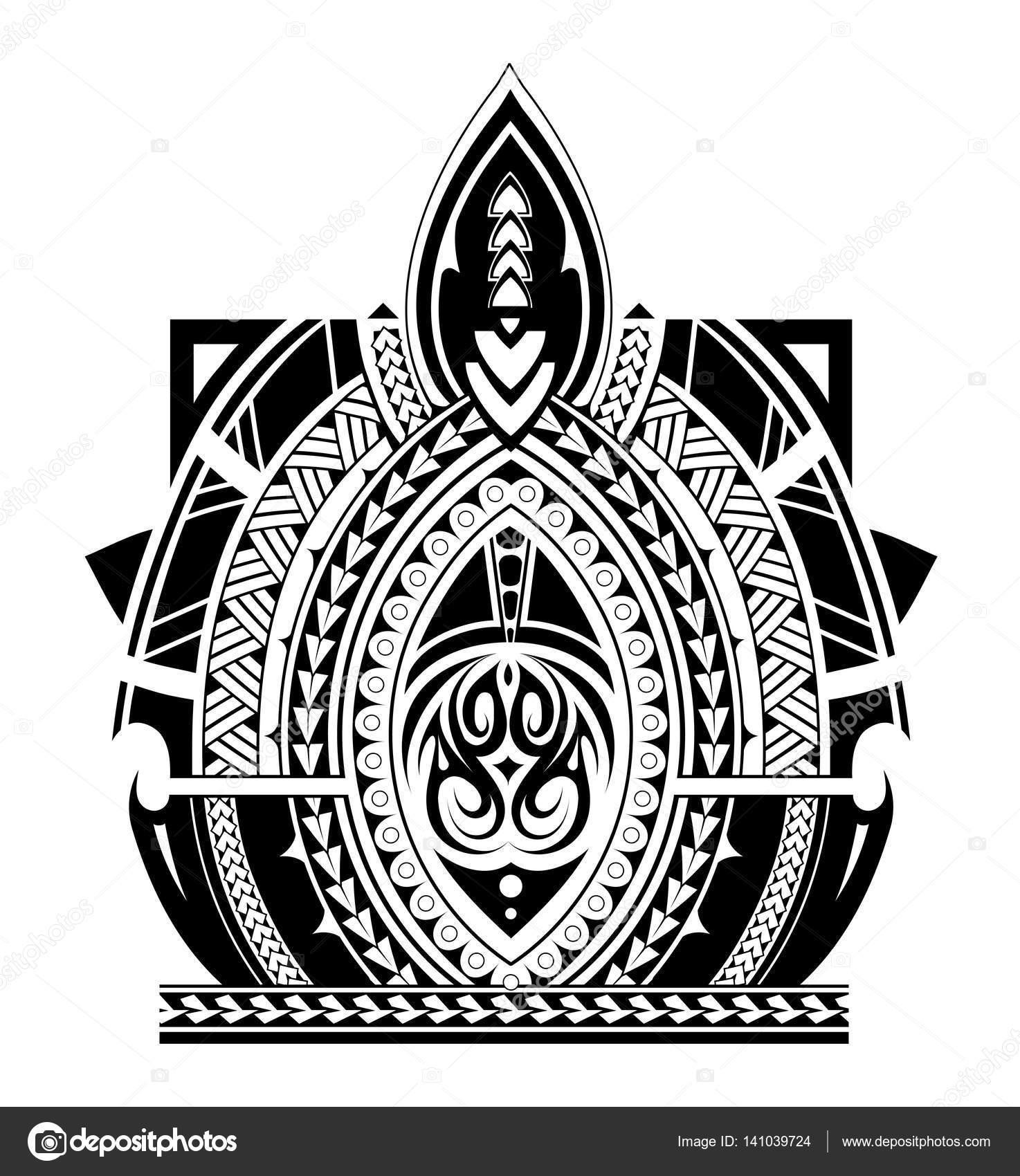Brazaletes Maories Plantillas Manga Del Tatuaje De Estilo Maori