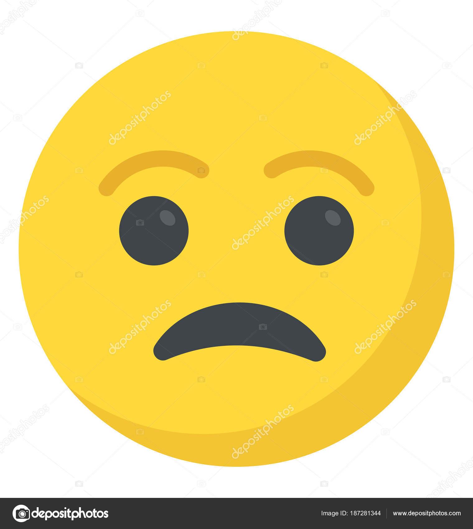 sad smiley face depressed