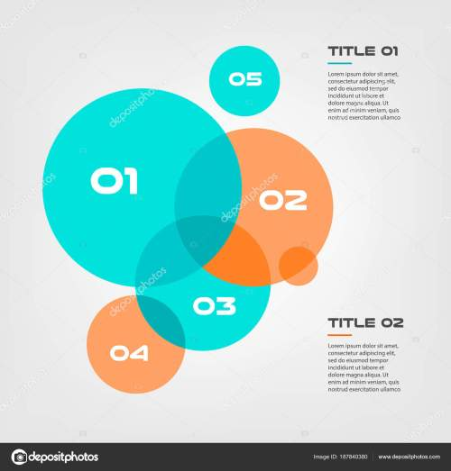 small resolution of bubble chart with elements venn diagram infographics for three circle design vector and marketing can be