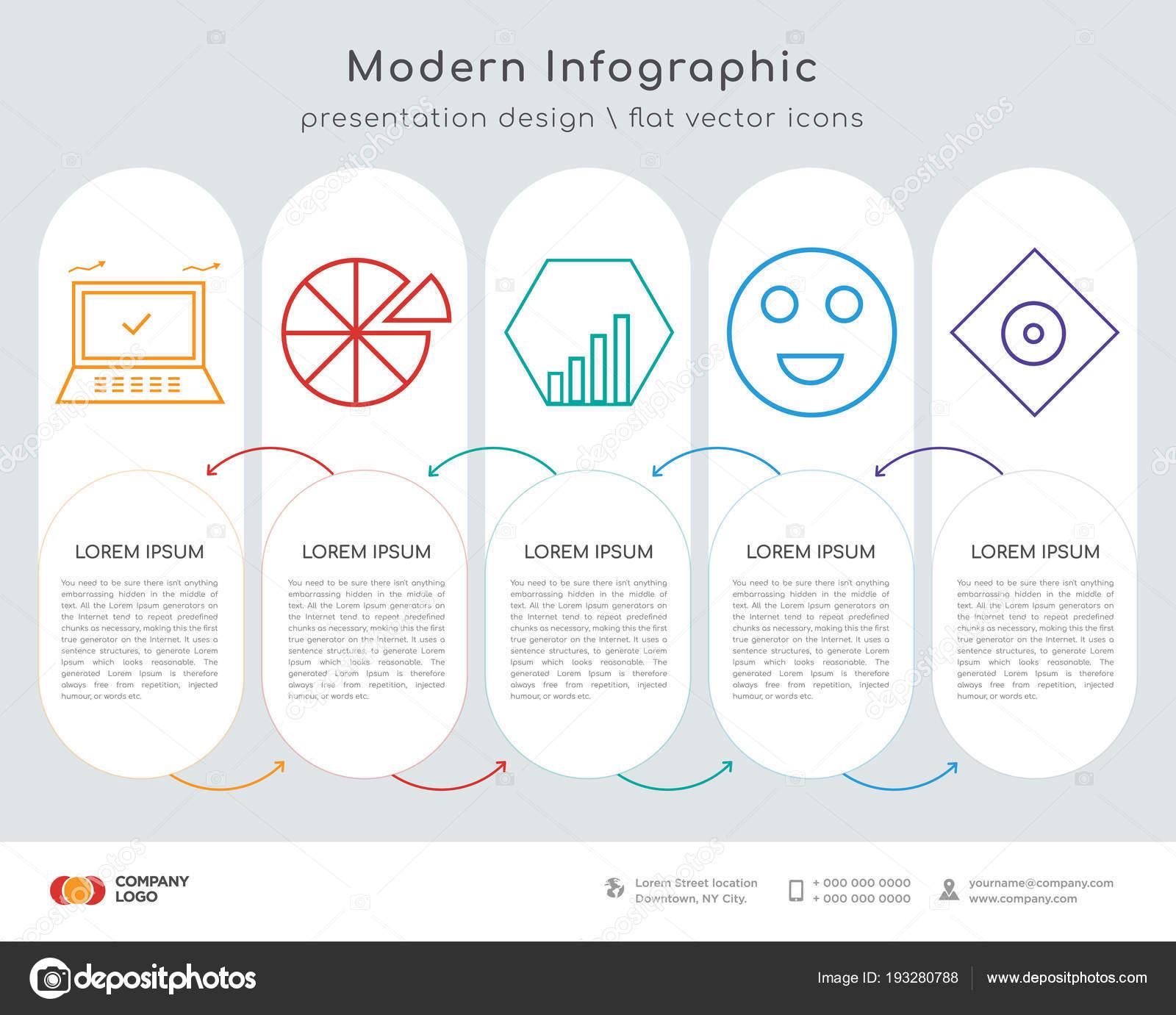 hight resolution of infographics design vector computer pie chart diamond smile rhombus icons stock vector