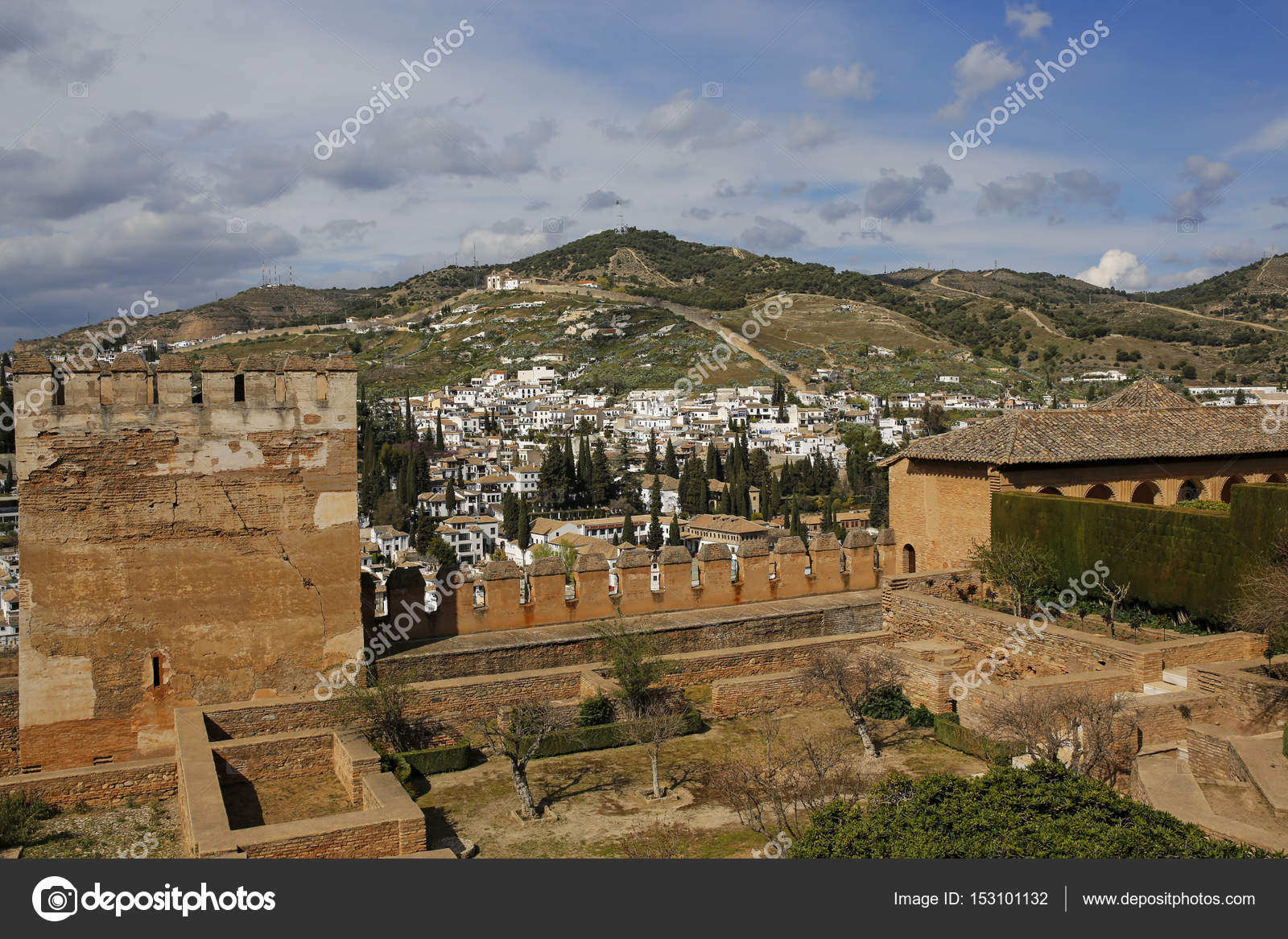 District Albayzin And Sacromonte In Granada Andalusia