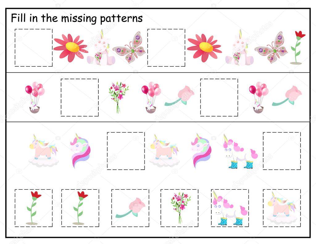 Logic Kindergarten Worksheet Kids Printable Game Funny