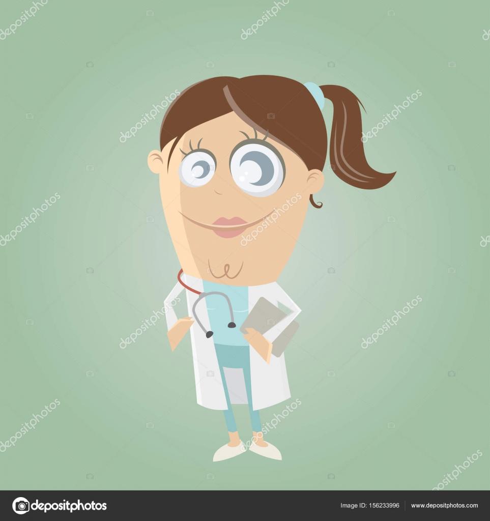hight resolution of gr fico de una ilustraci n de vector de doctora doctor clipart girl vector de