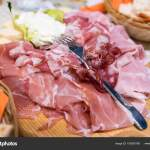 Italian Cold Meats Cheese Platter Stock Photo C Fpwing C 193930708
