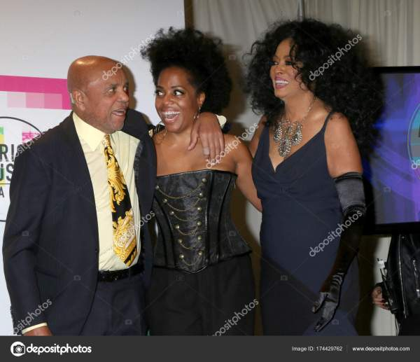 Berry Gordy Rhonda Ross Kendrick And Diana Stock Editorial Jean Nelson #174429762