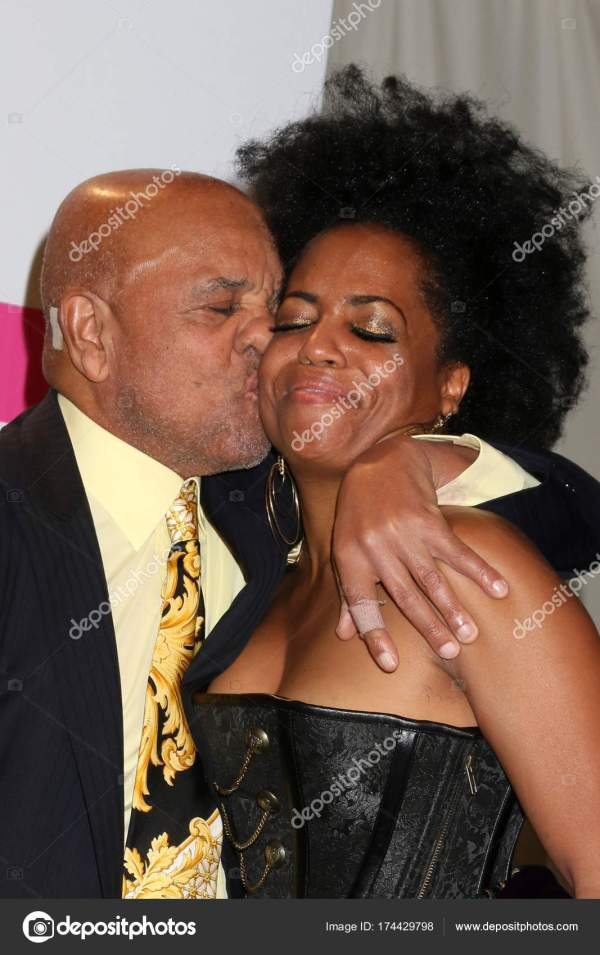 Berry Gordy And Rhonda Ross Kendrick Stock Editorial Jean Nelson #174429798