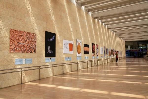 以色列特拉維夫本古里安國際機場. — 圖庫社論照片 © felker #121752982