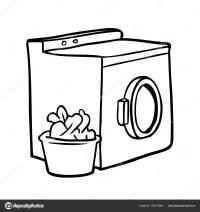 Dibujo De Una Lavadora Para Colorear Dibujos Para