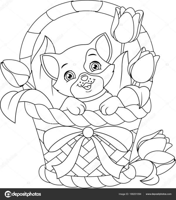 basket coloring page # 71