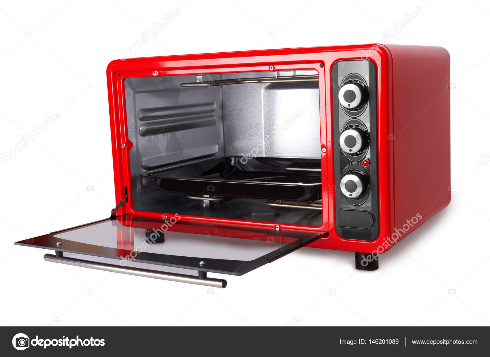 kitchen ovens pop up outlet 红色的厨房烤箱 图库照片 c pioneer111 146201089