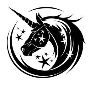 Gráfico vectorial Silueta de unicornio ▷ Imagen vectorial Silueta de unicornio | Depositphotos®