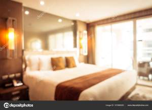 bedroom blur interior abstract mrsiraphol