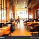 Abstract Blur Restaurant Coffee Shop Cafe Interior Background Vintage Filter Stock Photo C Mrsiraphol 181998648