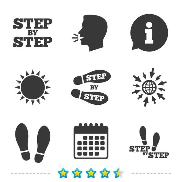 Talk or speak icons. Loud noise symbols — Stock Vector