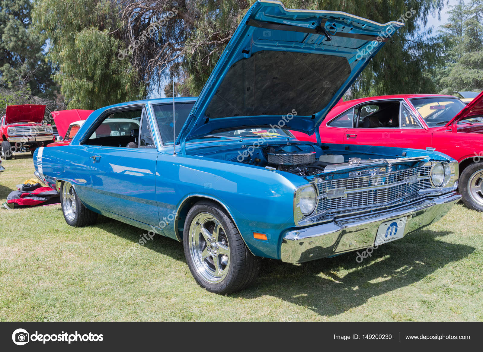 hight resolution of van nuys estados unidos 09 de abril de 2017 dodge dart gt sport en pantalla durante el spring fling 31 en el parque de woodley foto de bettorodrigues