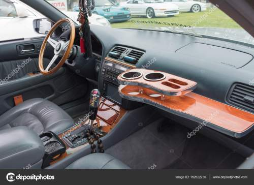 small resolution of lexus ls 400 interior on display stock photo