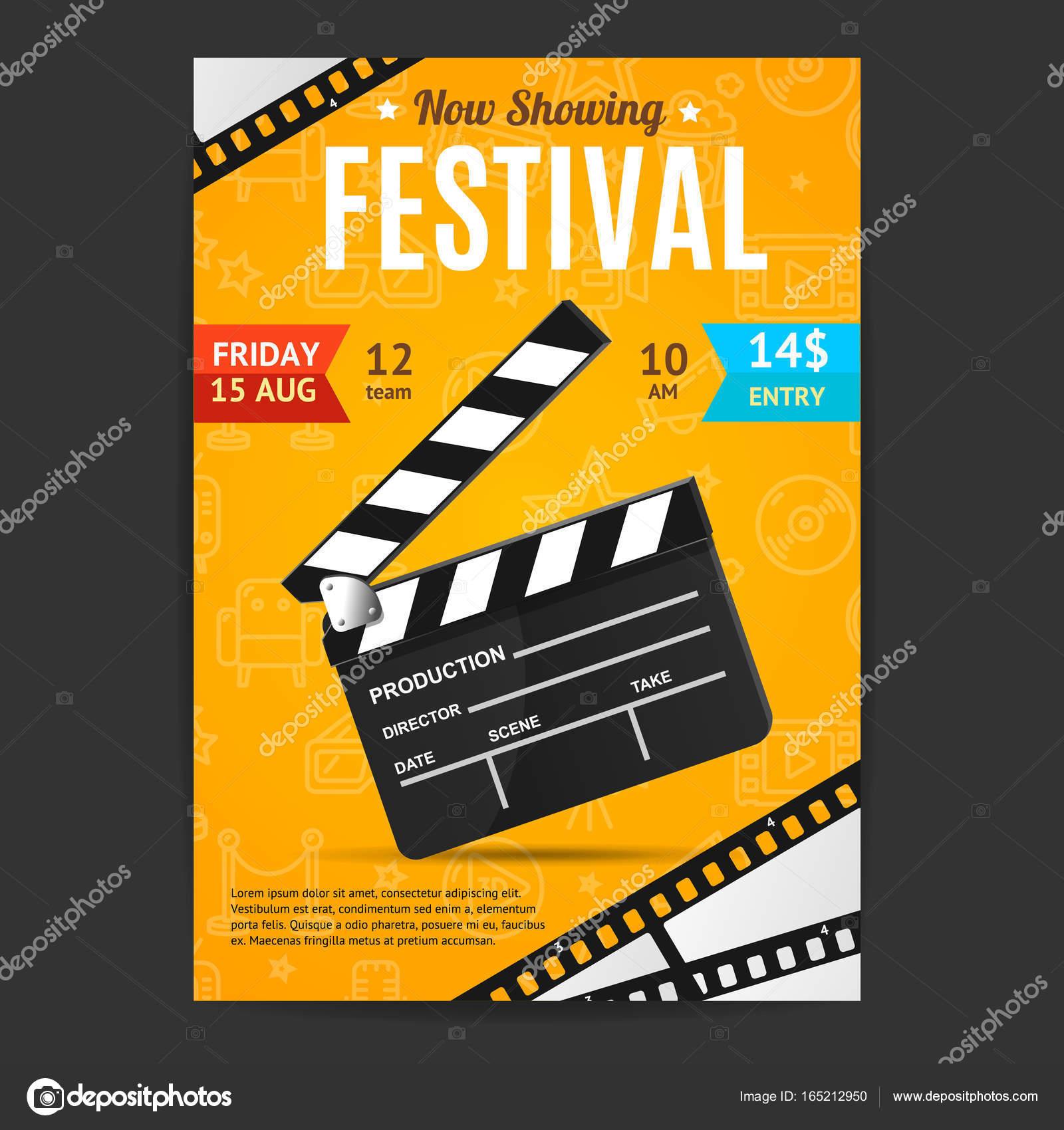 https depositphotos com 165212950 stock illustration cinema movie festival poster card html