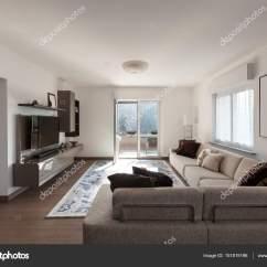 Sofa Room Leeson St Cost To Reupholster Belfast Sala De Estar Com Sofás Grandes  Fotografias Stock