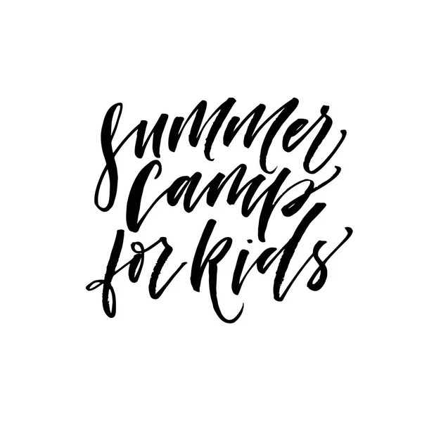 Summer camp kids Stock Vectors, Royalty Free Summer camp